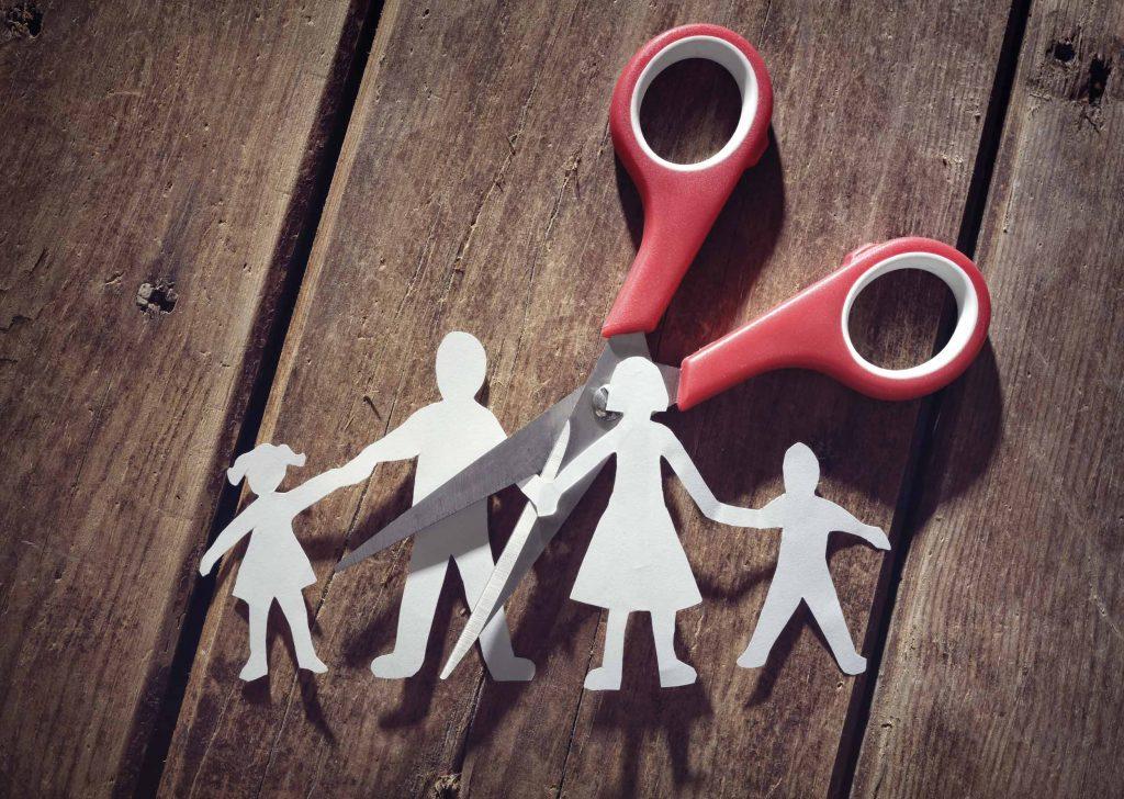 separación de hermanos tras divorcio